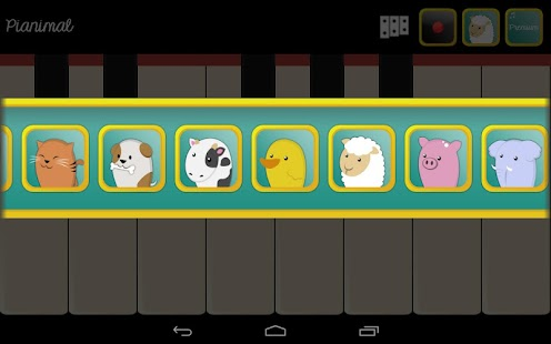 how to play animals on piano