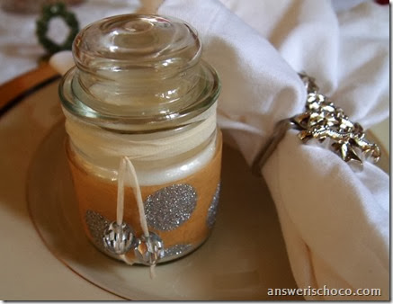Dollar Tree Candle Table Favors