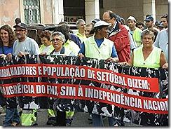 oclarinet. Marcha Contra o Desemprego 5. Out 2012