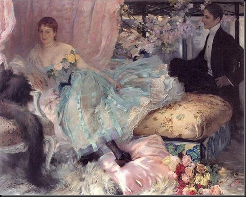 henri-lucien doucet - apres le bal 1889