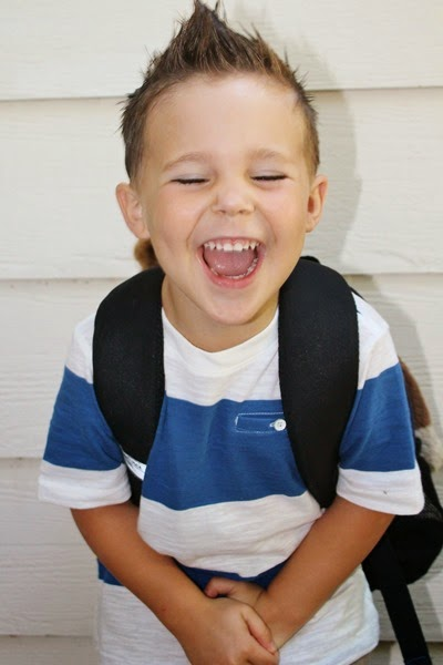 Nash's First Day of Preschool 016