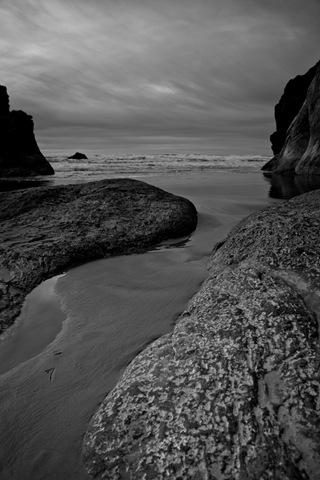 Looking North at Arcadia Beach