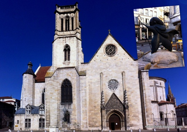 Agen's double-naved cathedral