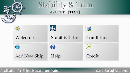 Avocet Stability And Trim