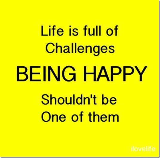 Life Full Challenges