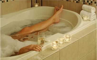 bath tub relax