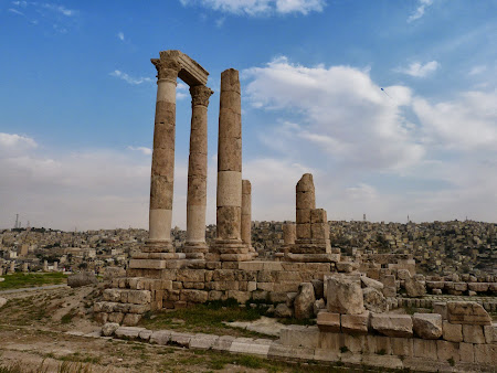 Obiective turistice Iordania: Templul lui Hercule Amman
