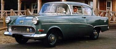 Opel Rekord P I 1957