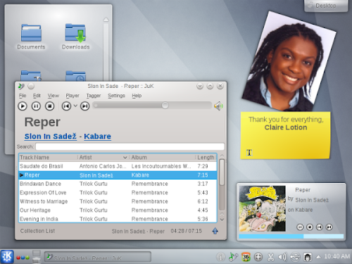 KDE 4.9