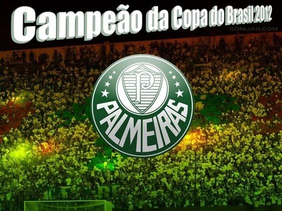 papel de parede campeão da copa do brasil 2012 palmeiras
