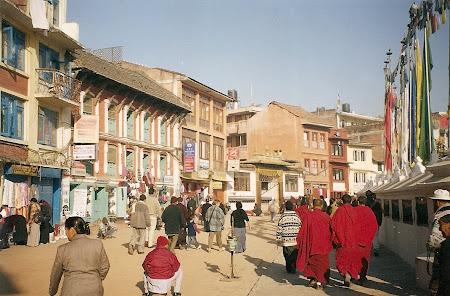 Things to do in Nepal: walk clockwise around the Bouddha stupa