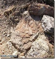 Piedra rubefactada - El Chorrillo