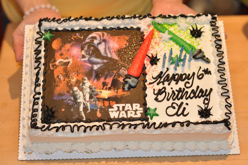 The 6th birthday cake