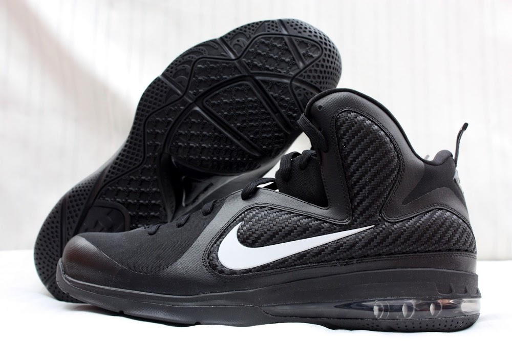 Nike LeBron 9 Black White Blue