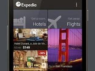 expedia aplicacion viajes android