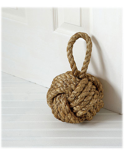A clever, functional door stopper. (uncommongoods.com)