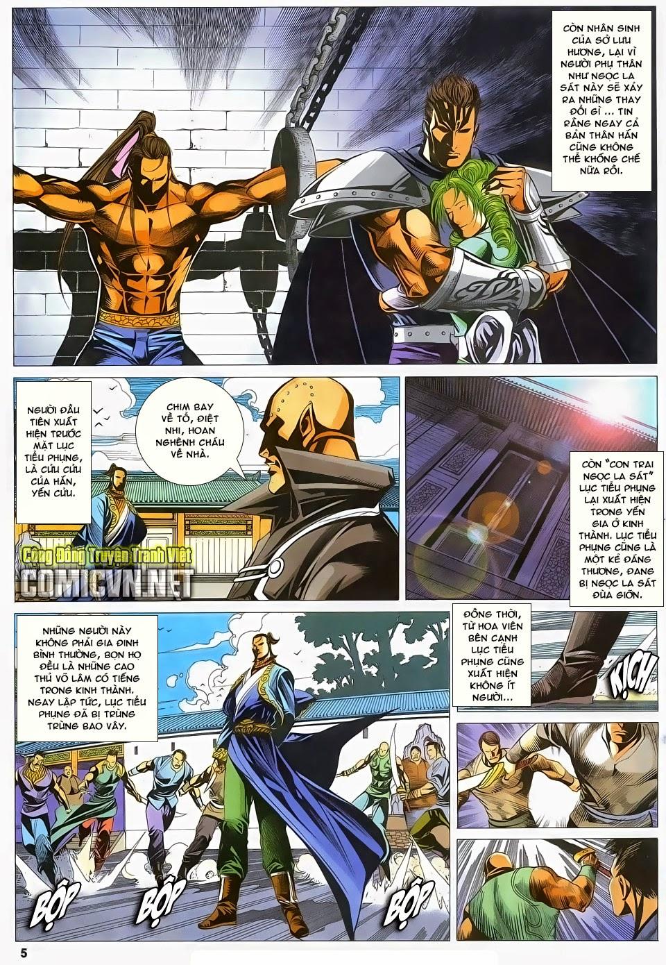 Cổ Long Quần Hiệp Truyện chap 83 - Trang 5