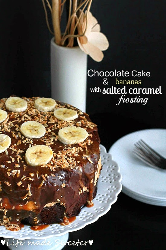 Chocolate Cake & Bananas with Salted Caramel Frosting.jpg
