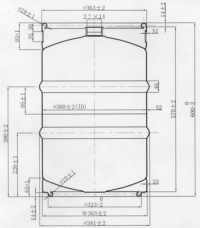 DIN50L Draw - пивной кег для пива/кваса