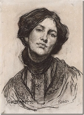 Thea Proctor drawn by George Lambert