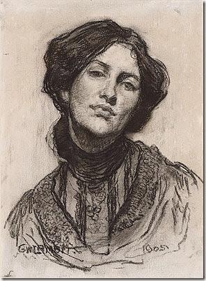 Thea Proctor drawn by George Lambert