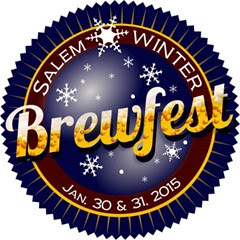 Salem Winter Brewfest logo courtesy Bite & Brew Salem