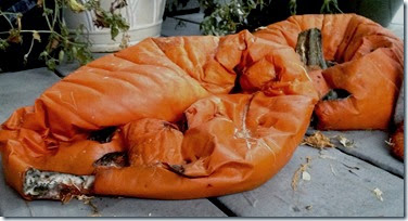 smushed pumpkins