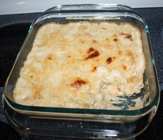 Un-Classic Mac N Cheese - Just from the oven - sampled B