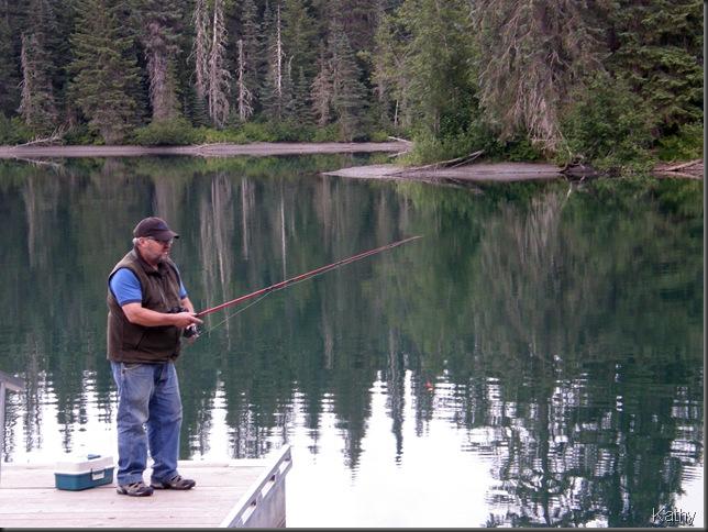 Ernie Fishing
