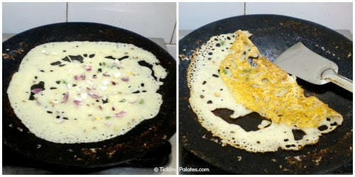 How to prepare Onion Rava Dosa