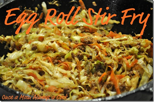 Egg Roll Stir Fry 2