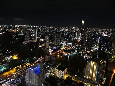 Panorama de noapte a Bangkok