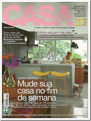 CLIPPING CASA CLAUDIA AGOSTO 2012 01 CAPA0001 - Cópia