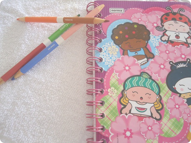 caderno tumblr fofo