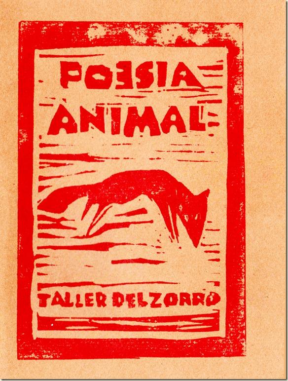 tapa poesía animal 001