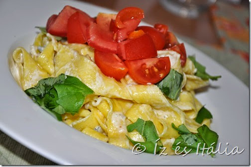Olasz tésztaételek: tagliatelle