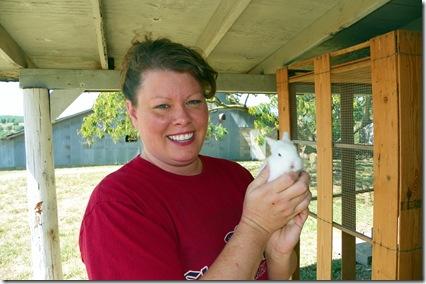 Jen & baby bunny