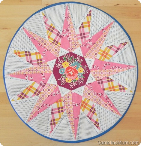 Mariners Compass Table Topper