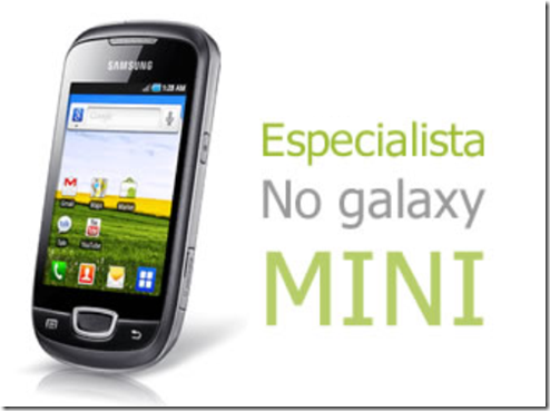 Especialista no Galaxy Mini eusouandroid