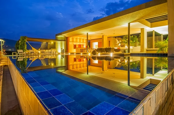Casa 3 por arquitectura en estudio y natalia heredia for Casas de campo modernas con piscina