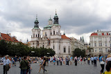 Old Town Square and the Church of St. Nicholas