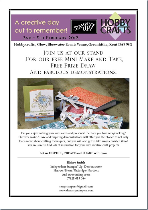 A4 Elaine Smith Flyer