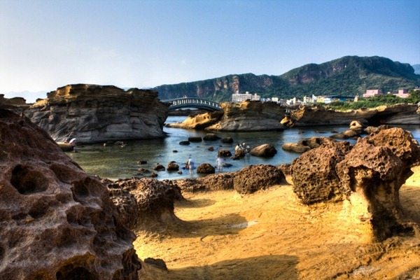 صخور يهليو التايوانية