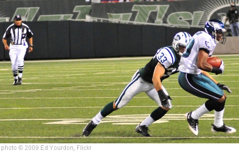 'Football: Jets-v-Eagles, Sep 2009 - 27' photo (c) 2009, Ed Yourdon - license: http://creativecommons.org/licenses/by-sa/2.0/