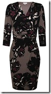 Kaliko Poppy Print Wrap Dress