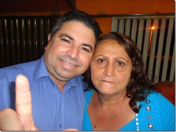 PAULO SILAS E IRMÃ LÚCIA FECHAM CHAPA GOVERNISTA EM SERRA DO MEL