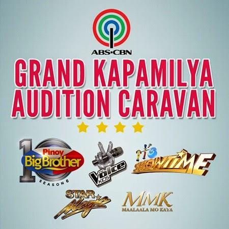 Grand Kapamilya Audition Caravan - PBB, The Voice Kids, It's Showtime, Star Magic, MMK