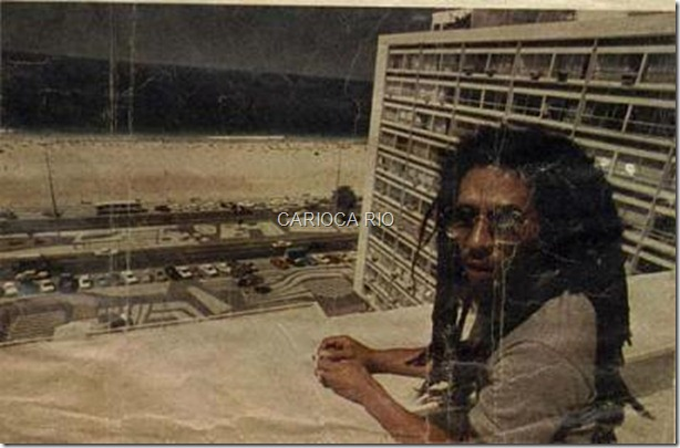 Bob Marley no Copacabana Palace - 1980