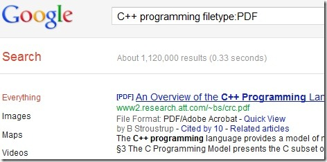 google-search-filetype-pdf-ppt-pptx-doc-docx