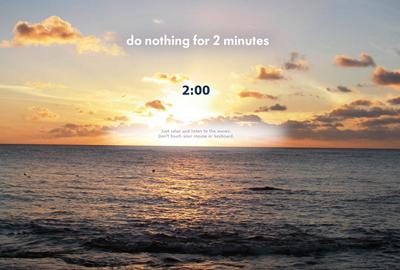 non fare nulla